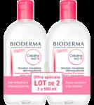 Acheter CREALINE TS H2O Solution micellaire sans parfum nettoyante apaisante 2Fl/500ml à Hendaye