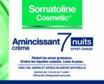 Acheter Somatoline Cosmetic Amaincissant 7 Nuits Crème 400ml à Hendaye
