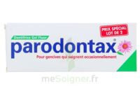 PARODONTAX DENTIFRICE GEL FLUOR 75ML x2 à Hendaye