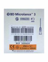 Bd Microlance 3, G25 5/8, 0,5 Mm X 16 Mm, Orange  à Hendaye