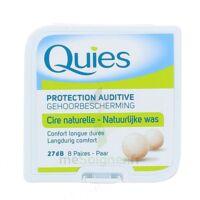 QUIES PROTECTION AUDITIVE CIRE NATURELLE 8 PAIRES à Hendaye