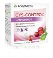 Cys-Control 36mg Poudre orale 20 Sachets/4g à Hendaye