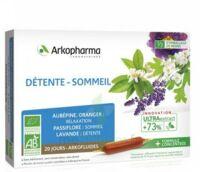 Arkofluide Bio Ultraextract Solution buvable détente sommeil 20 Ampoules/10ml à Hendaye
