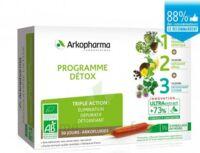 Arkofluide Bio Ultraextract Coffret programme détox 3x10 Ampoules/10ml à Hendaye