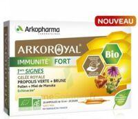 Arkoroyal Immunité Fort Solution Buvable 20 Ampoules/10ml à Hendaye