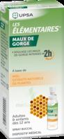 LES ELEMENTAIRES Solution buccale maux de gorge adulte 30ml à Hendaye