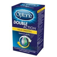 Optone Double Action Solution Oculaire Yeux Irrités Fl/10ml à Hendaye