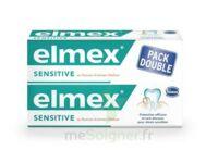 ELMEX SENSITIVE DENTIFRICE, tube 75 ml, pack 2 à Hendaye