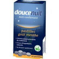 DOUCENUIT ANTIRONFLEMENT PASTILLES à la menthe, bt 16 à Hendaye