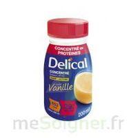 DELICAL BOISSON HP HC CONCENTREE Nutriment vanille 4Bouteilles/200ml à Hendaye
