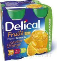 DELICAL BOISSON FRUITEE Nutriment édulcoré orange 4Bouteilles/200ml à Hendaye