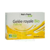 Nat&form Bio Gelée Royale Solution Buvable 20amp/10ml à Hendaye