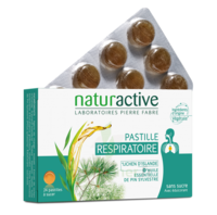 NATURACTIVE ORL Pastilles respiratoire B/24 à Hendaye