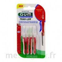 Gum Trav - Ler, 0,8 Mm, Manche Rouge , Blister 4 à Hendaye