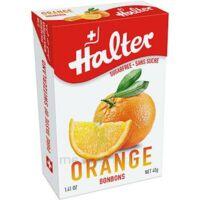 Halter Bonbon Sans Sucre Orange 40g à Hendaye