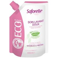 Saforelle Solution soin lavant doux Eco-recharge/400ml à Hendaye