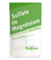 Gifrer Magnésium Sulfate Poudre 50 Sachets/30g à Hendaye