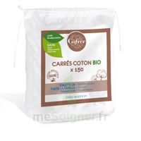 Gifrer Carré coton bio Sachet/150 à Hendaye