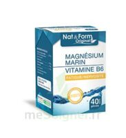 Nat&Form Expert Magnésium+Vitamine B6 Gélules B/40 à Hendaye