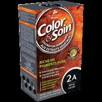 COLOR&SOIN Kit coloration permanente 2A brun azuré à Hendaye