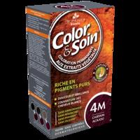 COLOR&SOIN Kit coloration permanente 4M châtain acajou à Hendaye