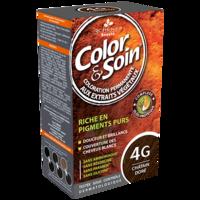 COLOR&SOIN Kit coloration permanente 4G châtain doré à Hendaye